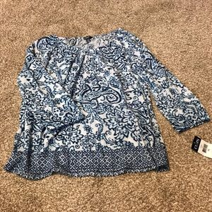 NWT light weight blouse